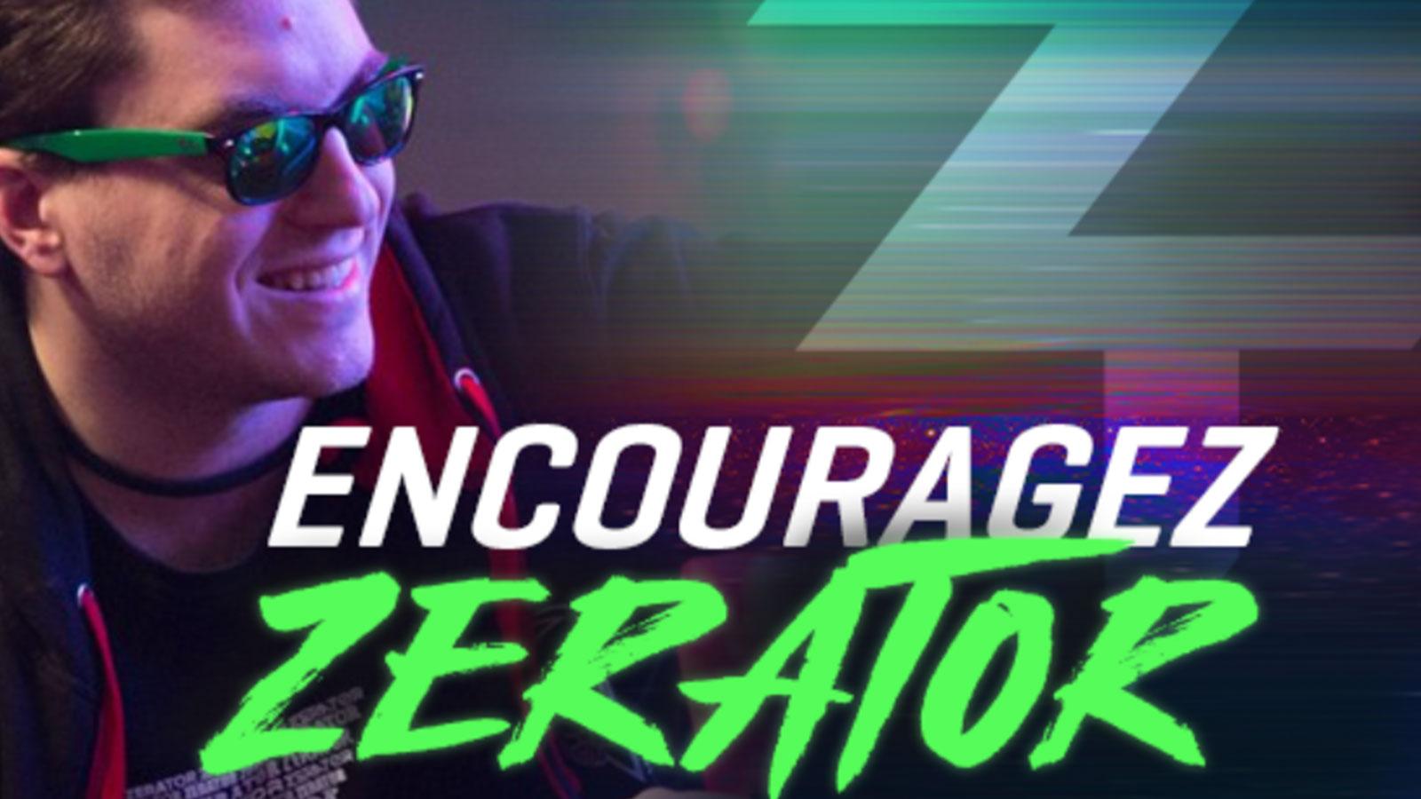 Il semblerait que ZeratoR ait une annonce à faire à la Lyon e-Sport