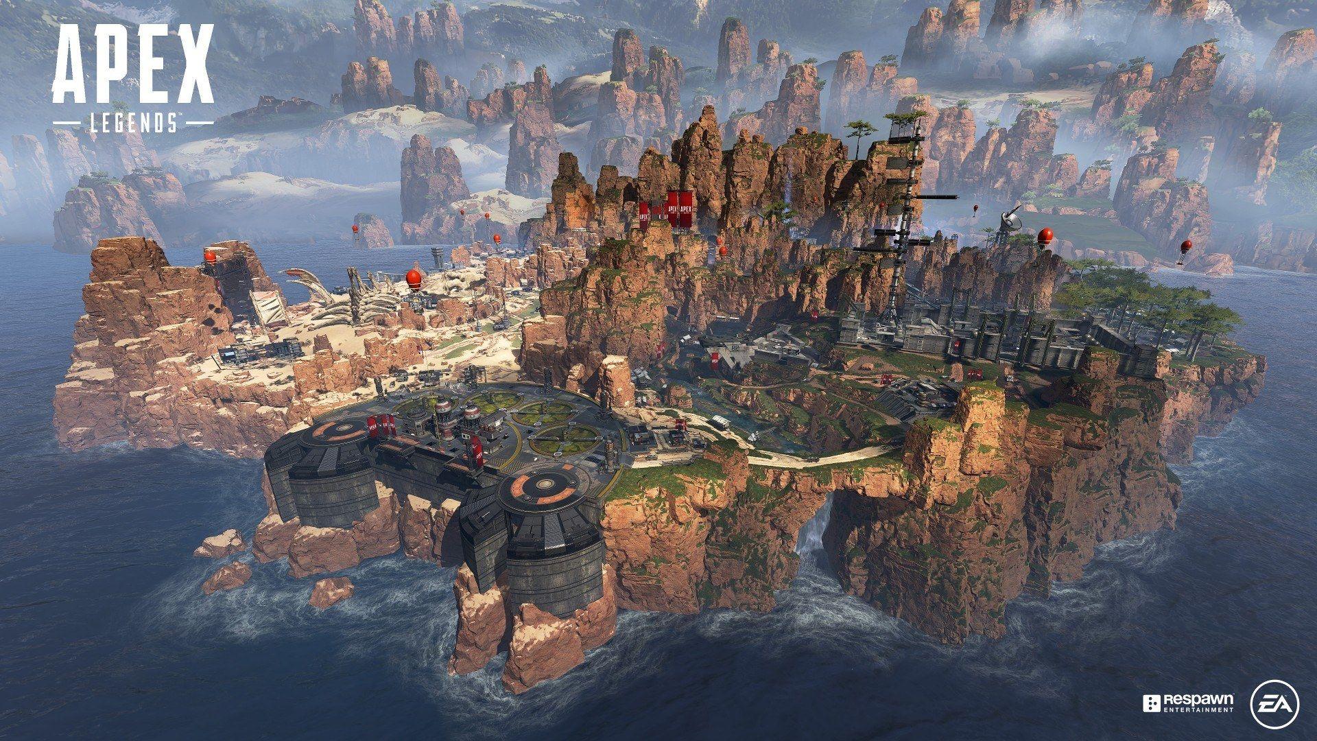 Canyon des rois Apex Legends Respawn Entertainment