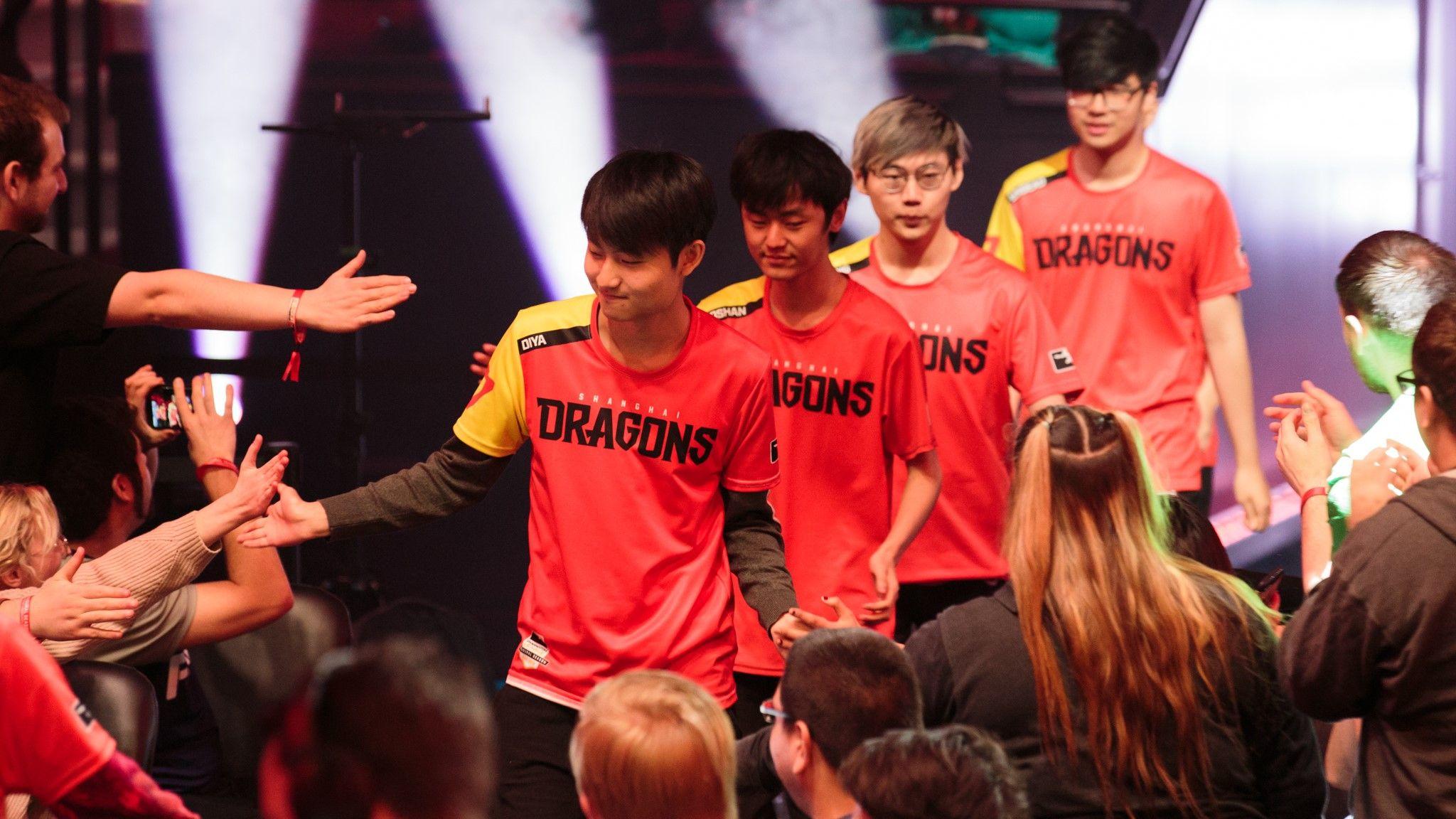 Shanghai Dragons Overwatch League Blizzard