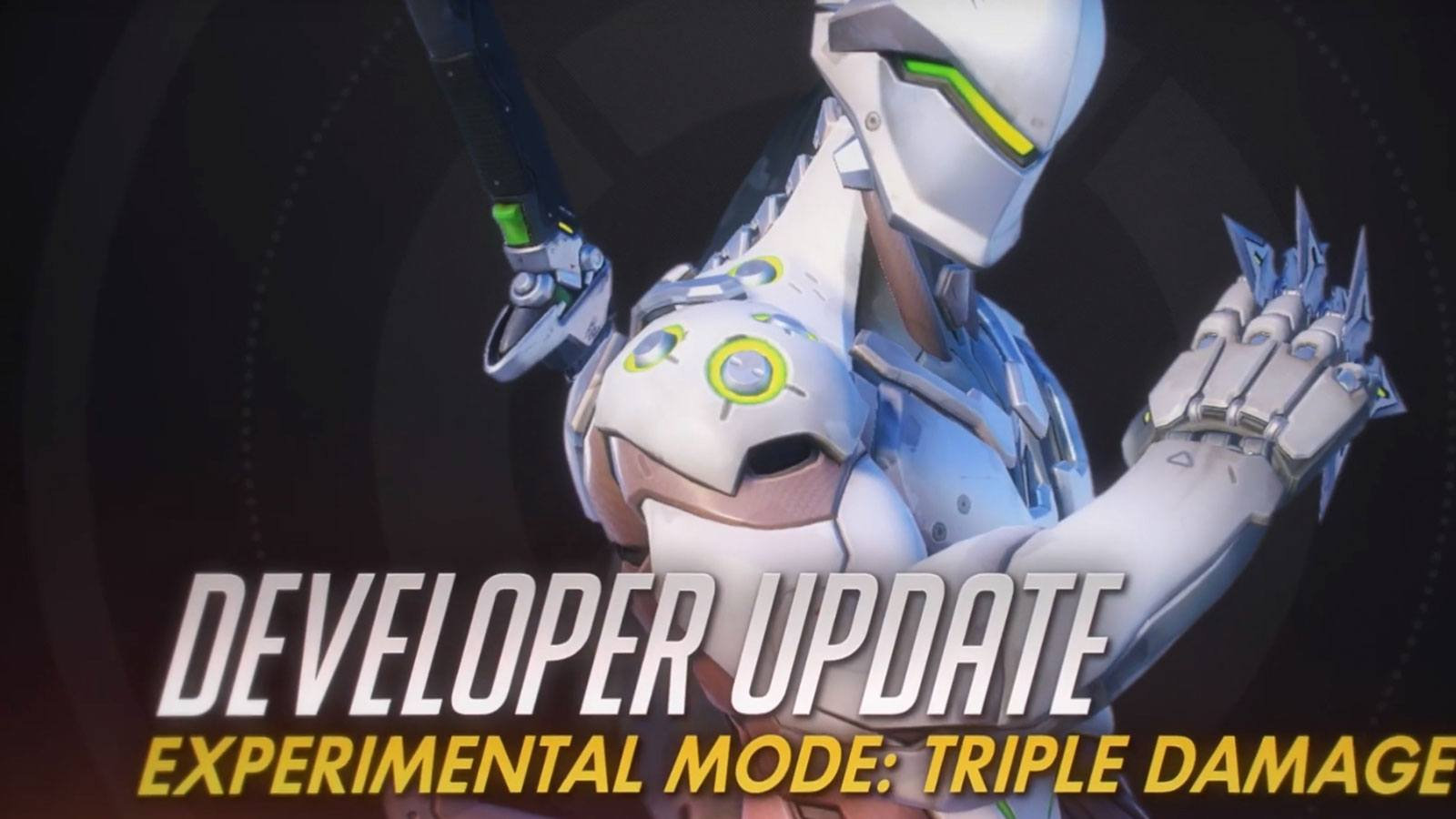 Overwatch Developper update Blizzard Triple damage