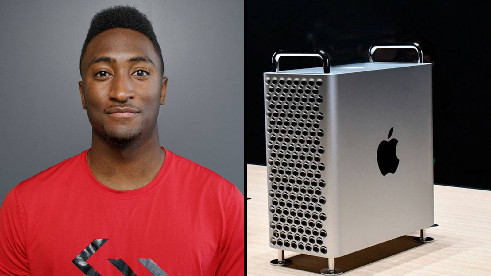 Marques Brownlee Apple Mac Pro