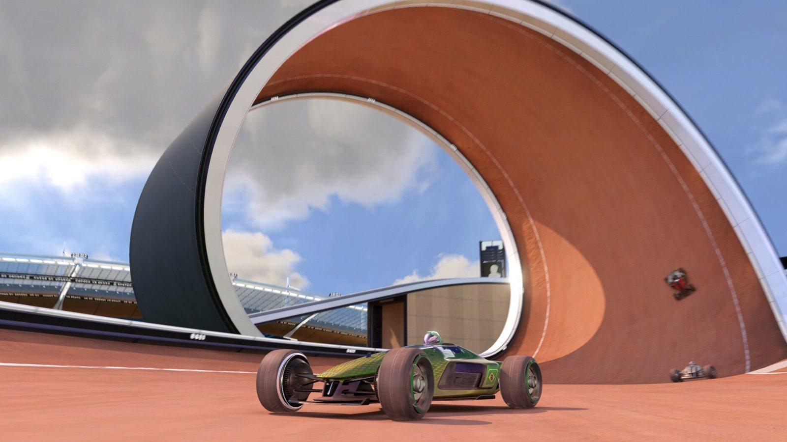 Image officielle du nouveau jeu Trackmania
