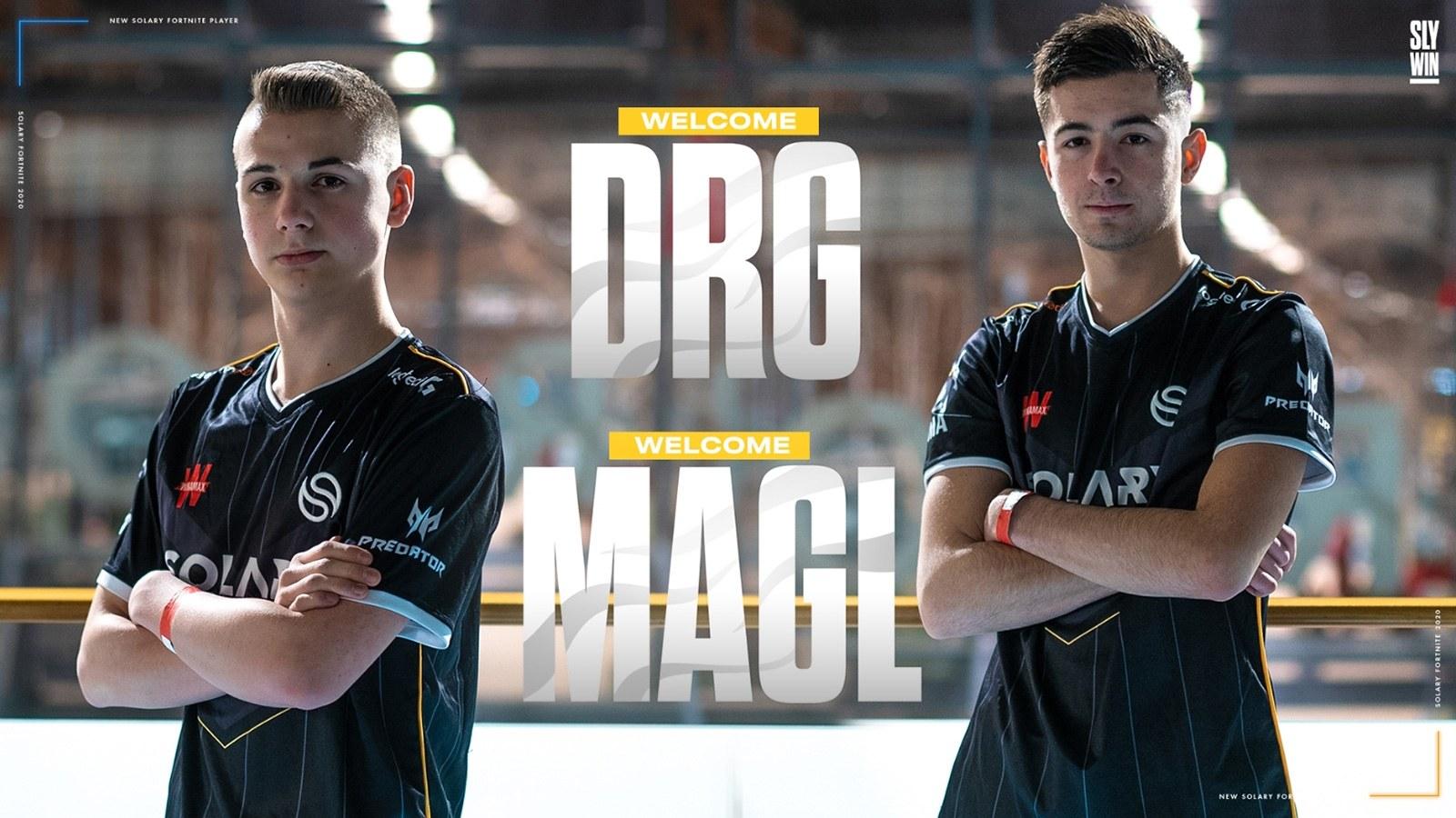 DRG et Magl sous les couleurs de Solary