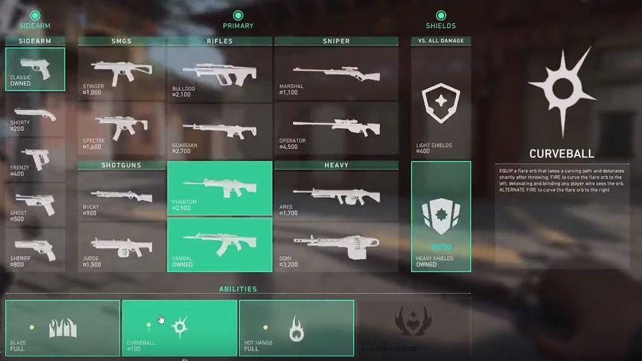 Valorant capture armes Riot Games
