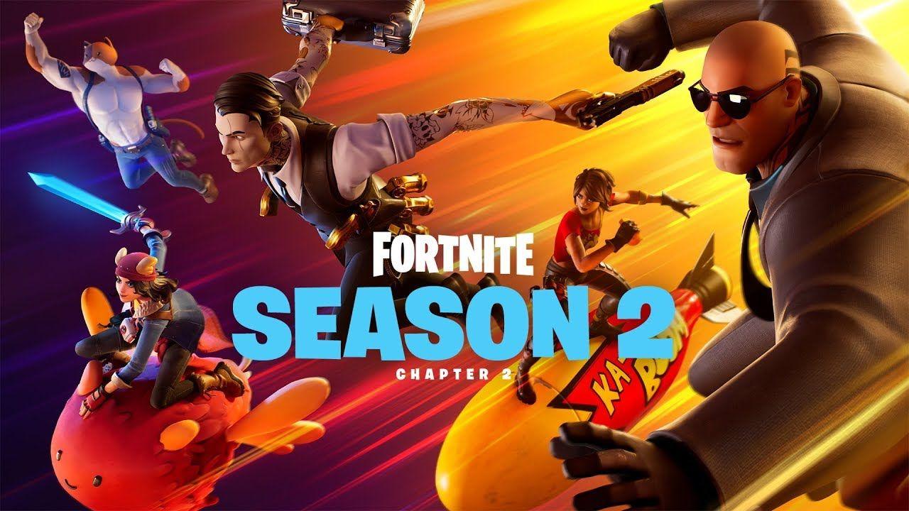 Fortnite Saison 2 Epic Games