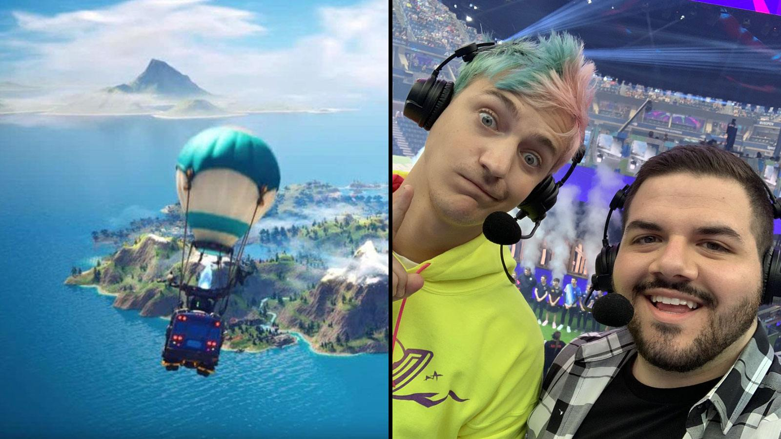 Epic Games Fortnite Bus | Ninja et CouRage