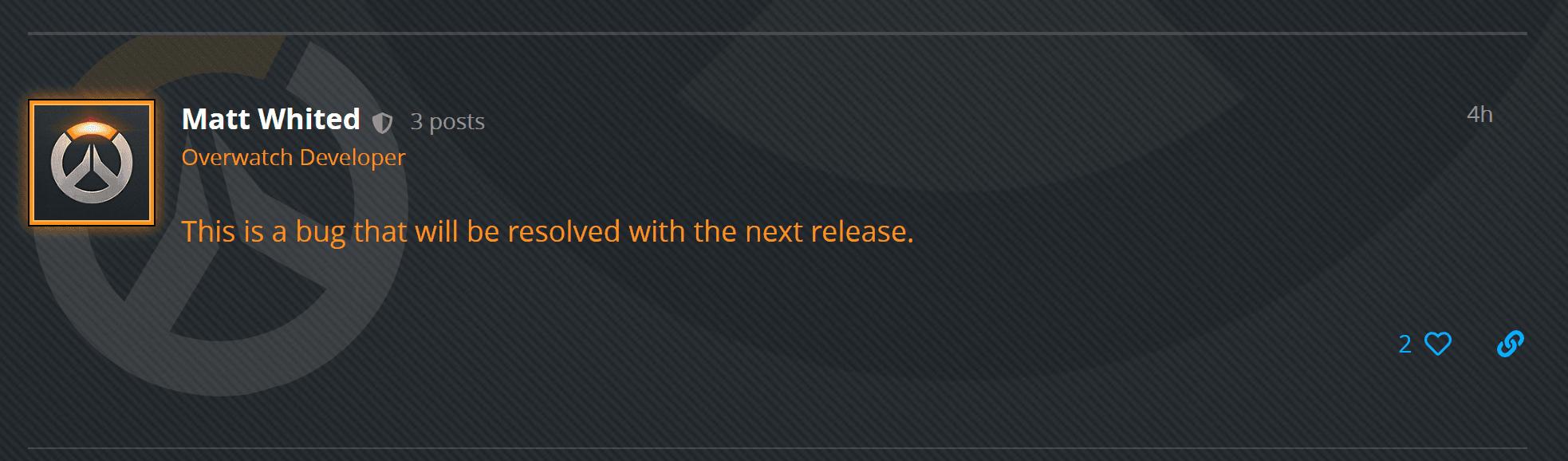 Forum Blizzard Matt Whited
