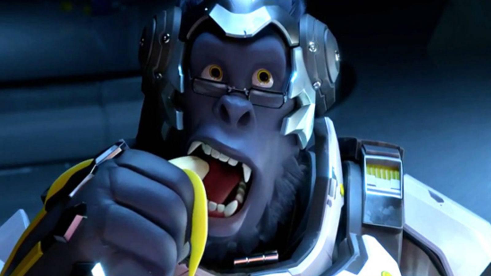 Winston Banane Overwatch Blizzard