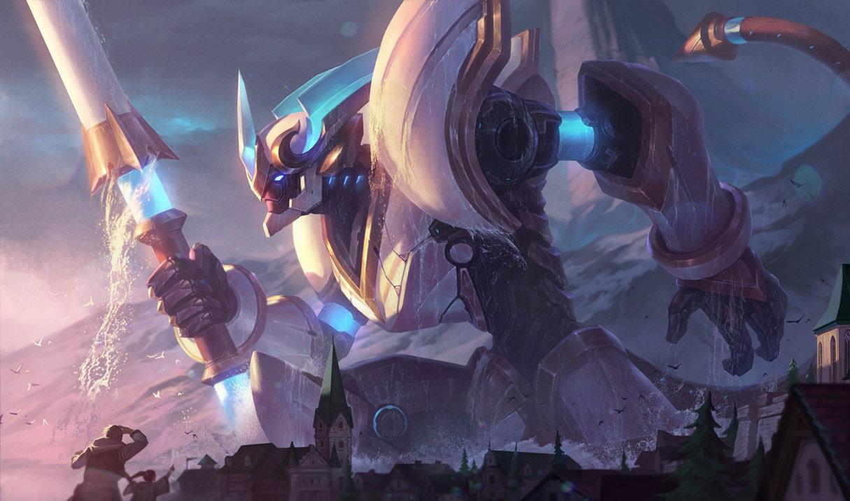 Wukong skin Lancier Stratus League of Legends Riot Games