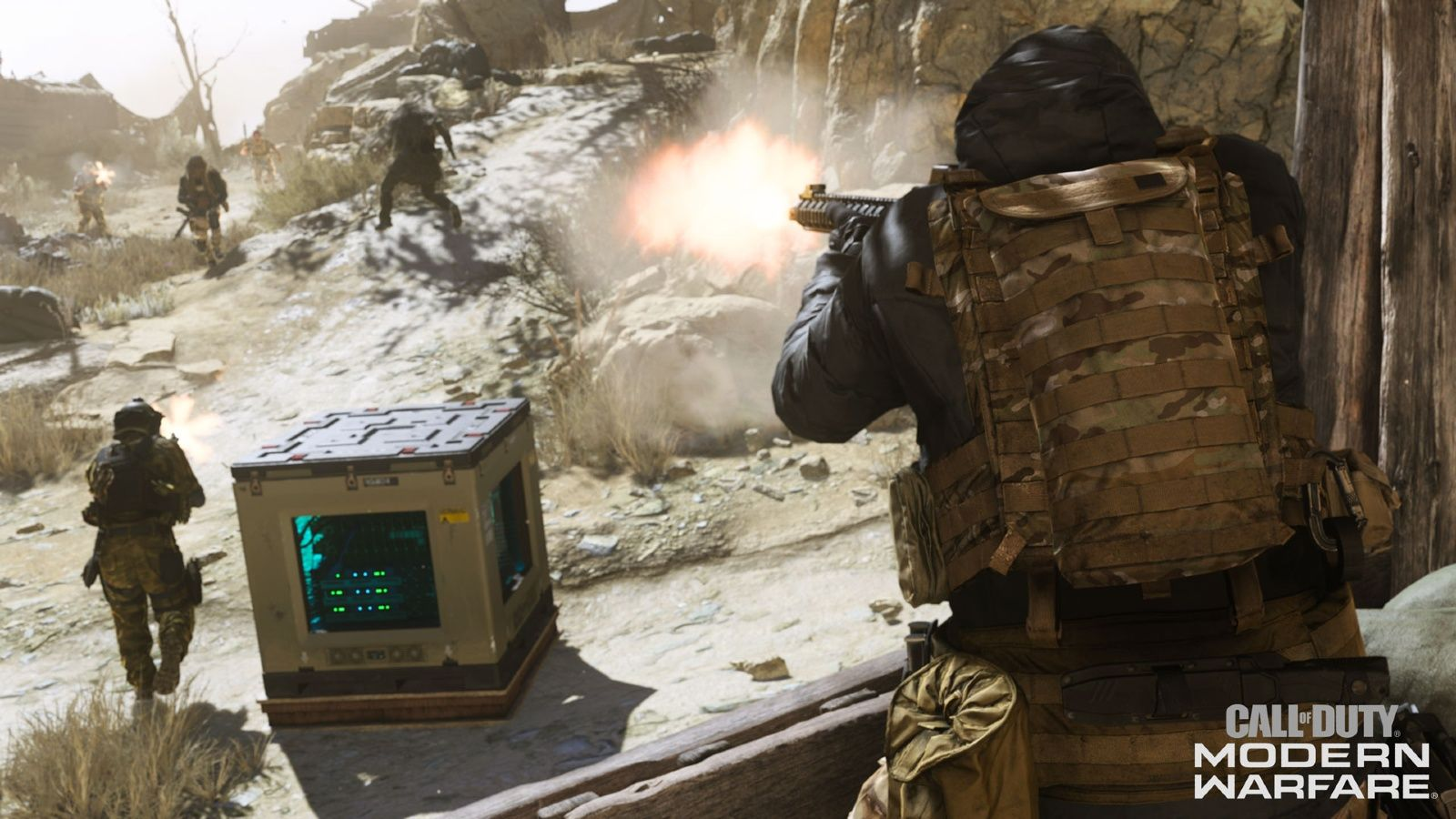 mode Cyber Attack Modern Warfare Infinity Ward