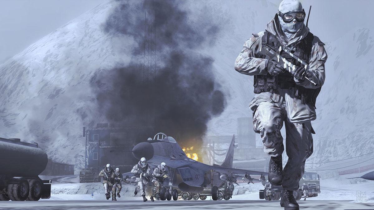 Capture d'écran de Modern Warfare 2