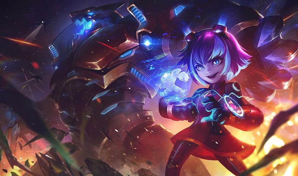 Annie dans teamfight Tactics