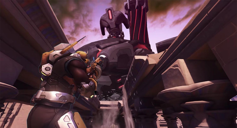 Doom Overwatch Crossover Bastion