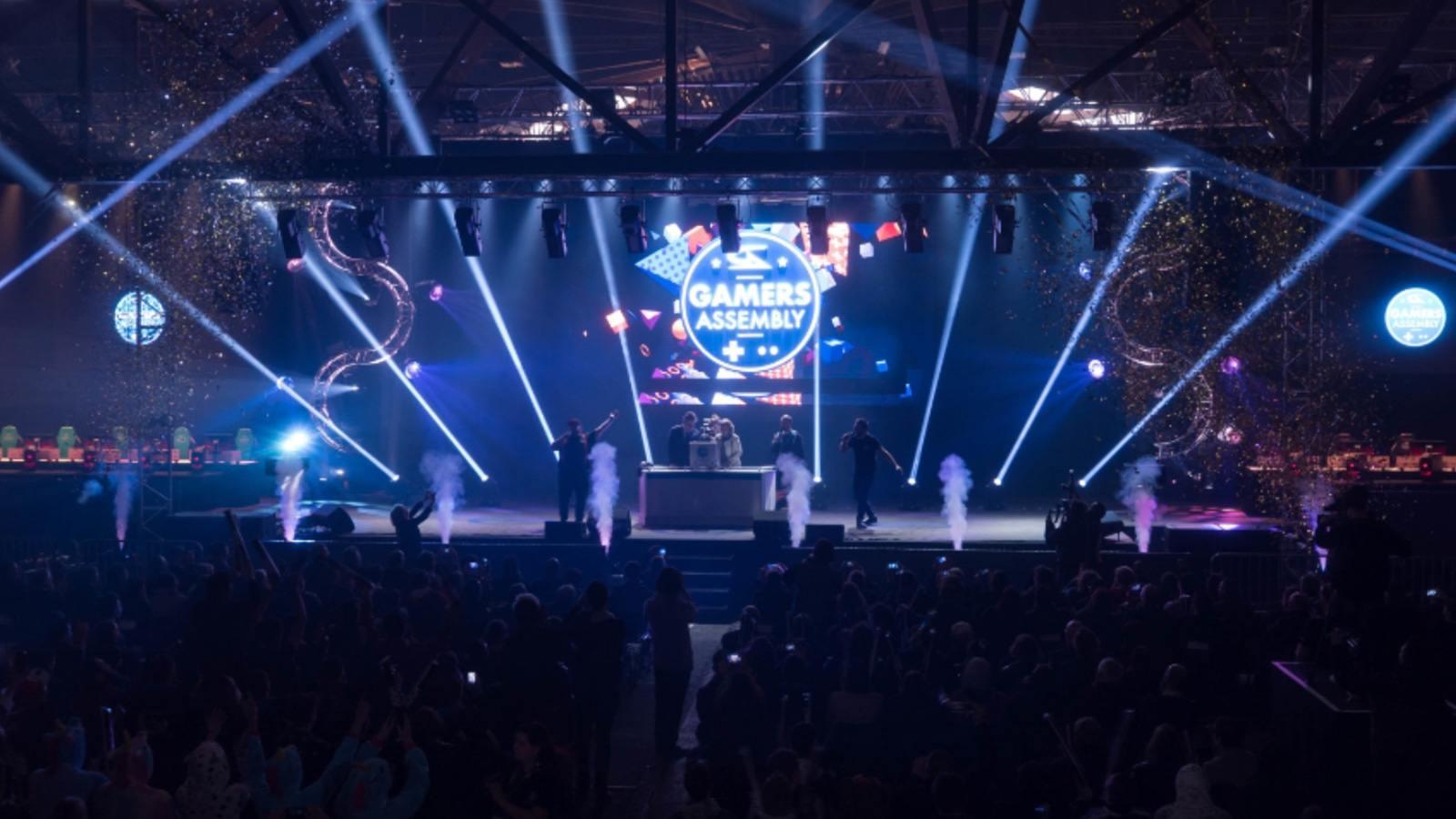 Scène principale de la Gamers Assembly 2018