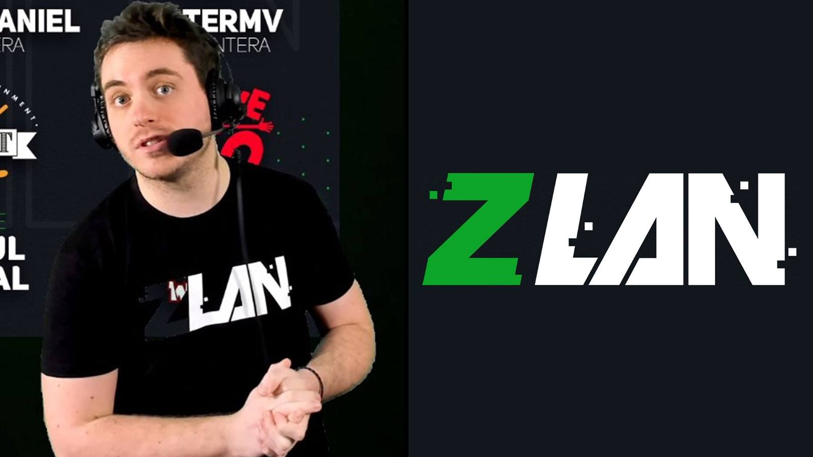 ZeratoR en stream sur Twitch pour la ZLAN