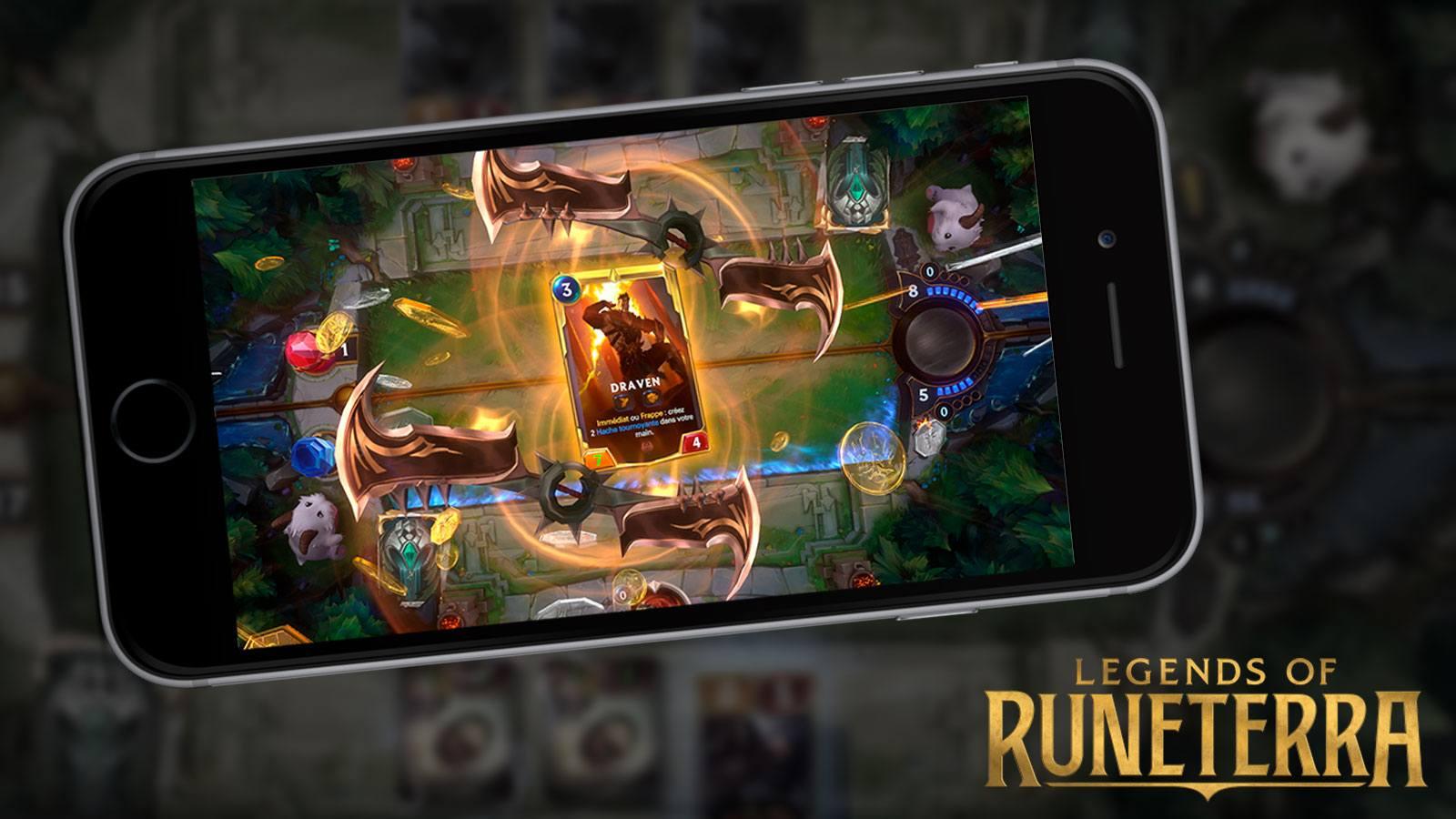 Legends of Runeterra sur mobile