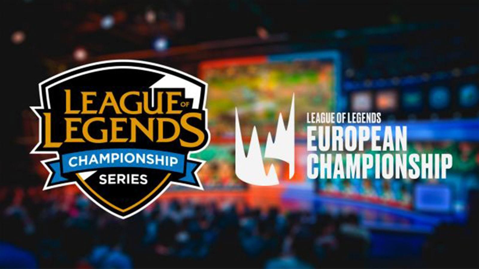 LCS LEC Riot Games League of Legends