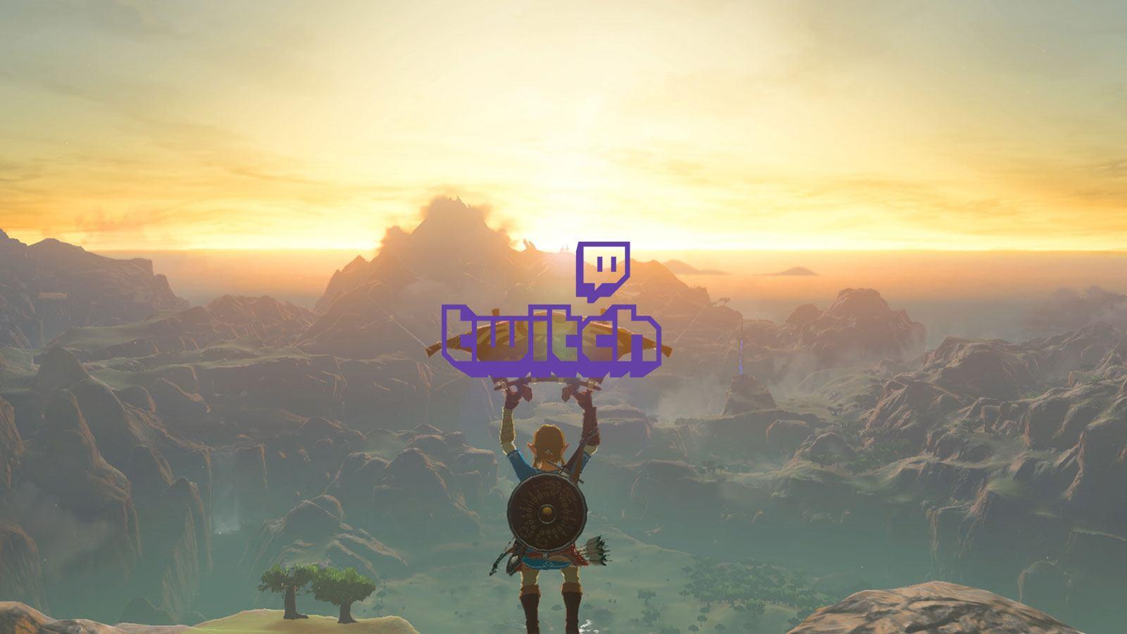 Nintendo Zelda : Breath of the wild Twitch