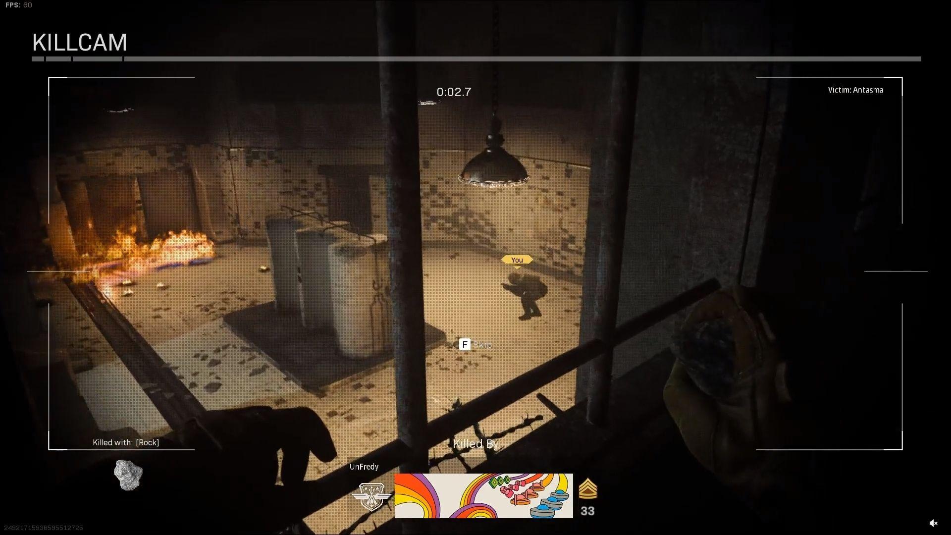 Goulag killcam Warzone Infinity Ward