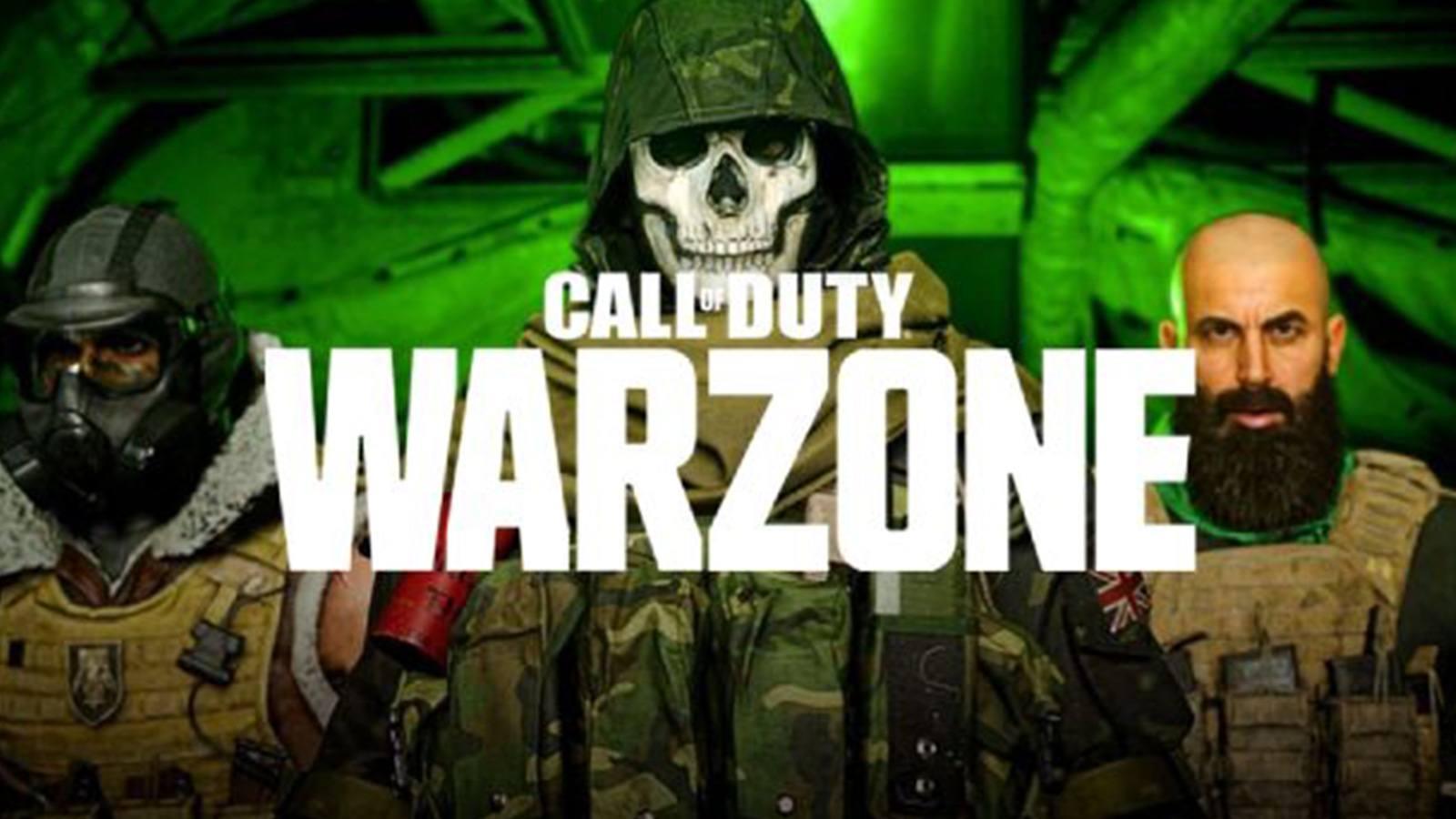 Trois joueurs avant de sauter de l'avion de Warzone sur Call of Duty : Modern Warfare