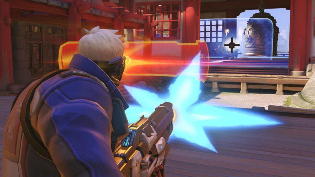 Visière tactique Soldat 76 Overwatch Blizzard