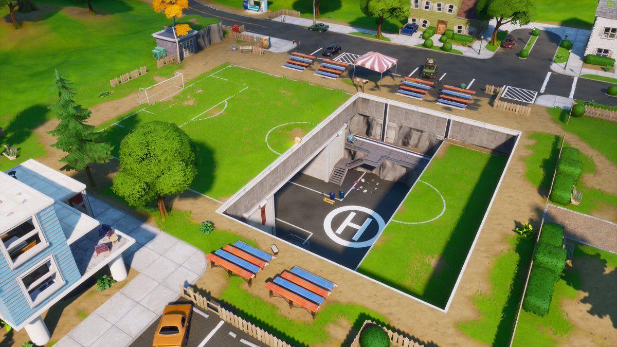 Pleasant Park Fortnite Epic Games Patch 12.20