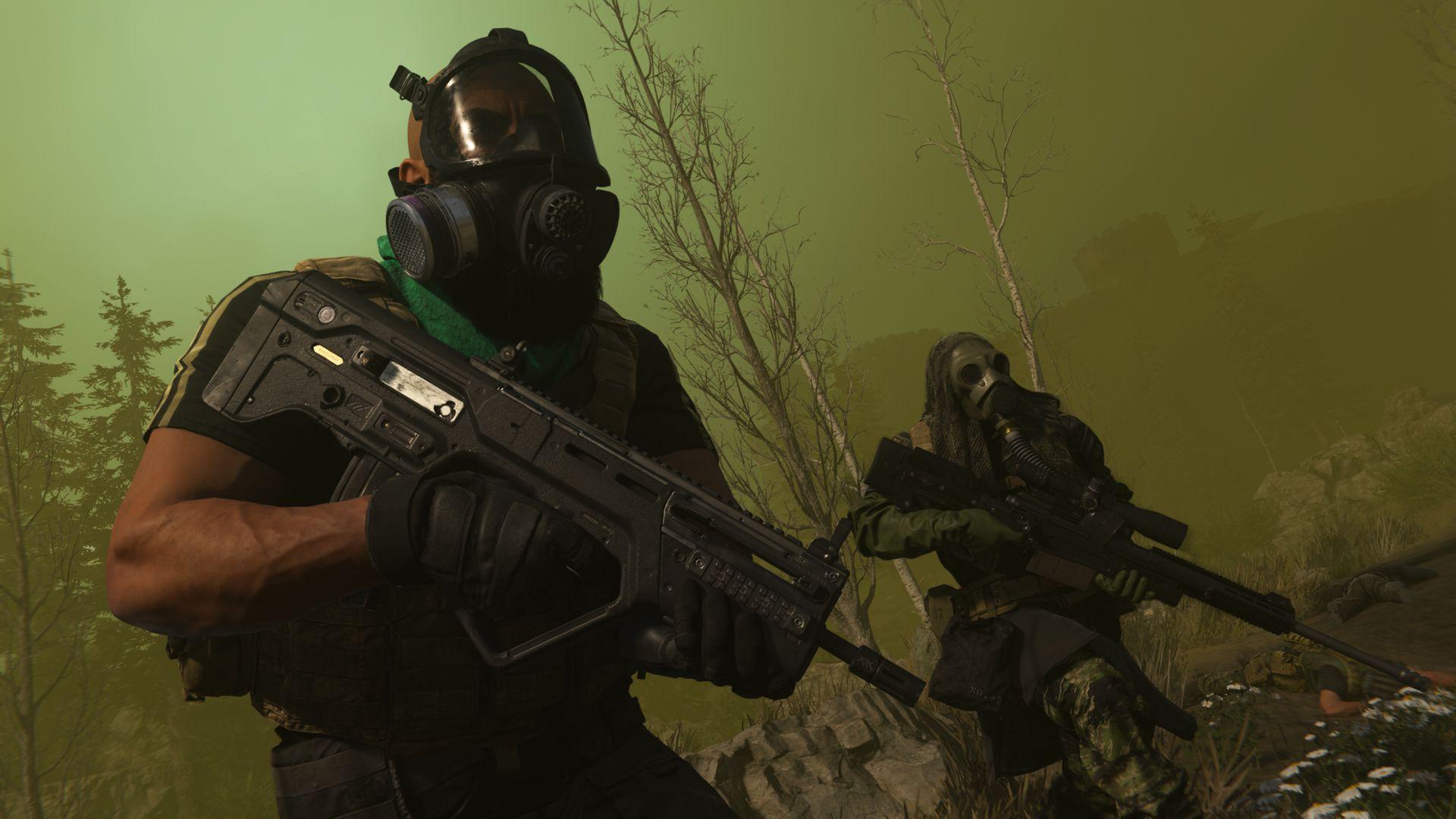 Warzone gaz Call of Duty Infinity Ward