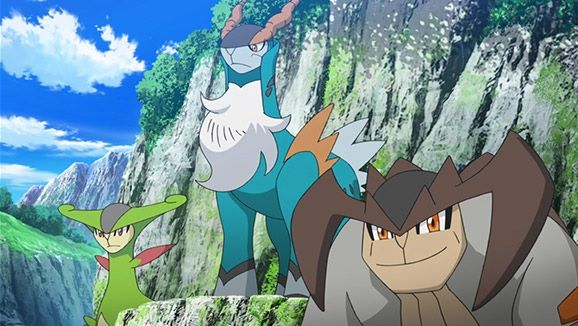 Mousquetaires Pokémon dessin animé