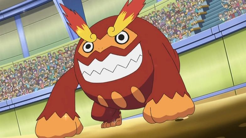 Darumacho Pokémon dessin animé