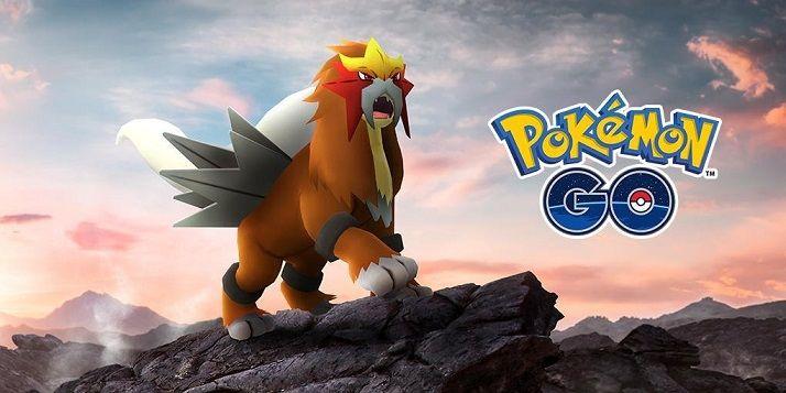 Entei Pokémon Go