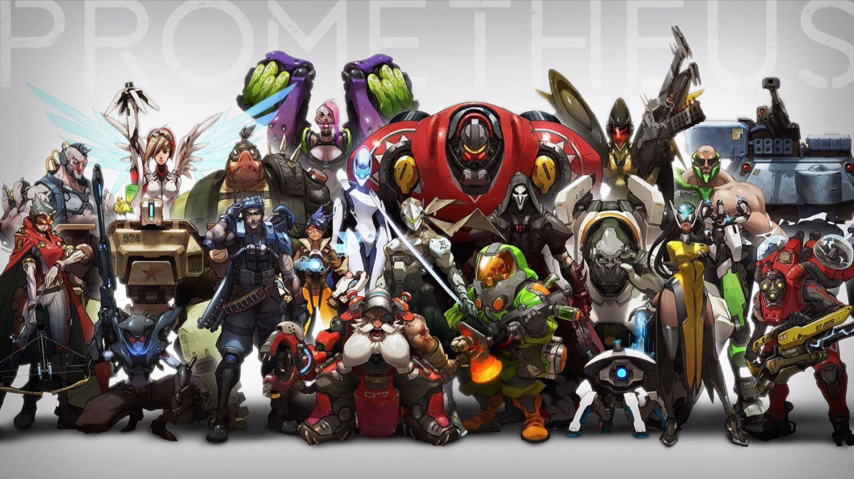 original concept art Overwatch Blizzard
