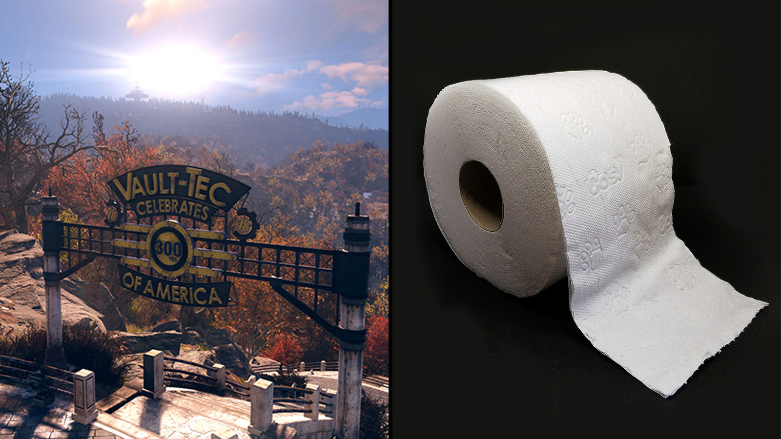 Le papier toilette est devenu un objet assez prisé sur Fallout 76
