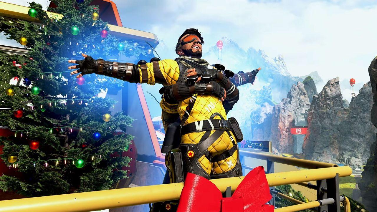 Holo-fêtes de Mirage Apex Legends Noël