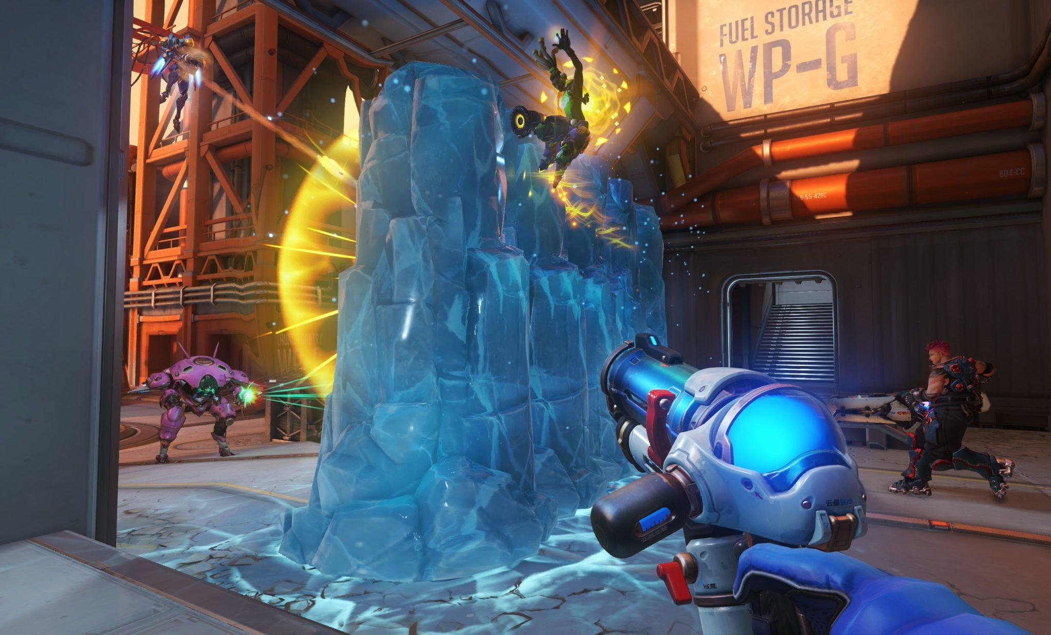 Mur de glace Mei Overwatch Blizzard
