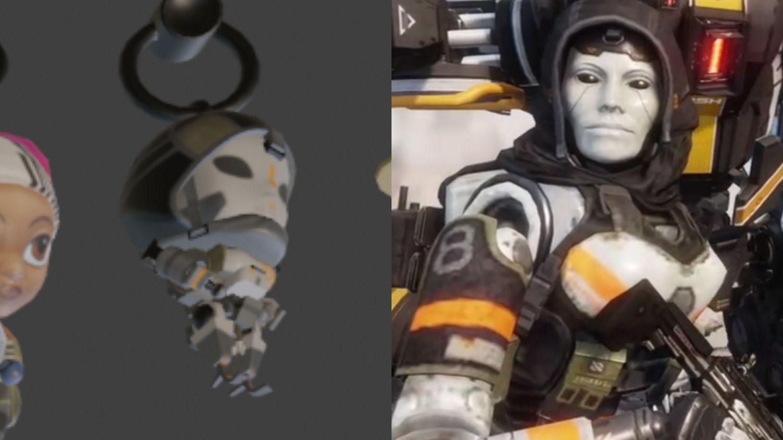 leak charmes d'armes Apex Legends | Titanfall 2 respawn Entertainment