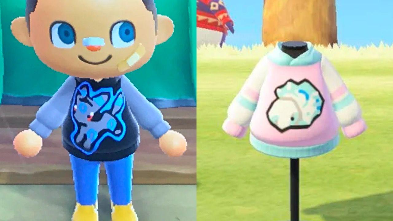 hoodies Pokémon Animal Crossing New Horizons