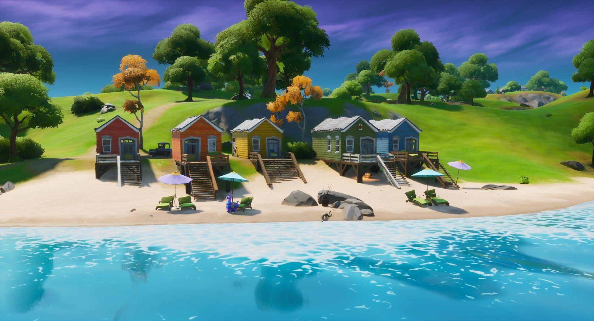 Locations arc-en-ciel Fortnite Epic Games Miaousclé semaine 6