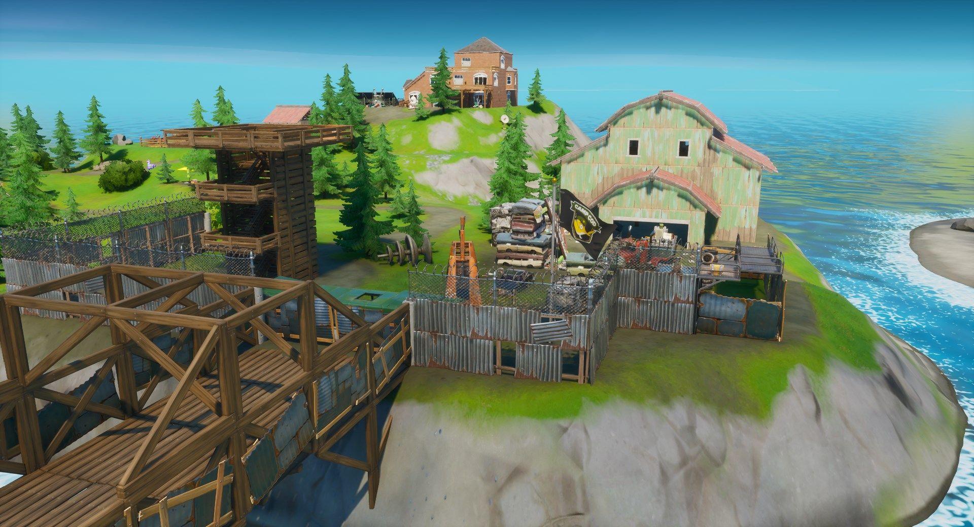 camp de la morue Epic Games Fortnite Miaousclé Semaine 6