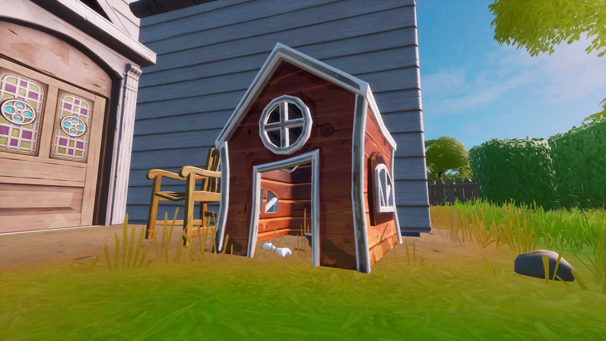 défis Fortnite semaine 6 niches Epic Games