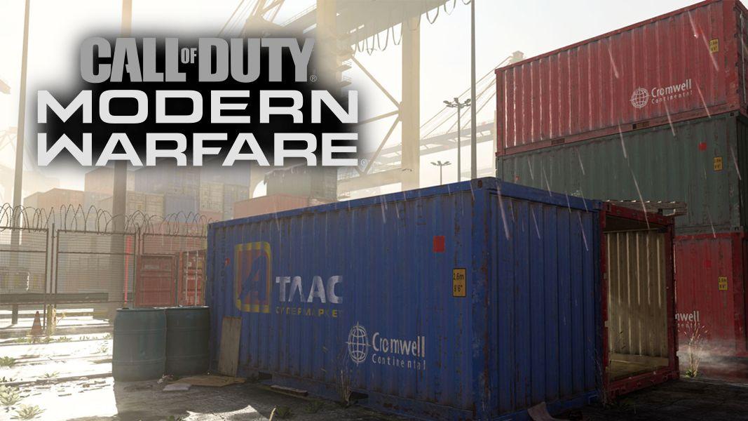 Modern Warfare Infinity Ward Shipment