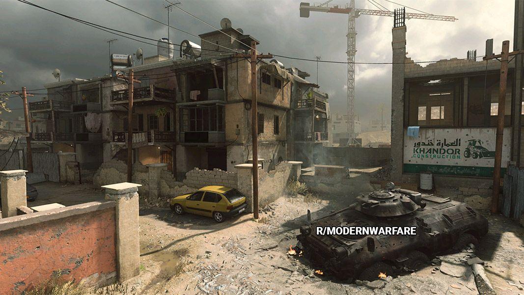 Backlot Modern Warfare Call of Duty