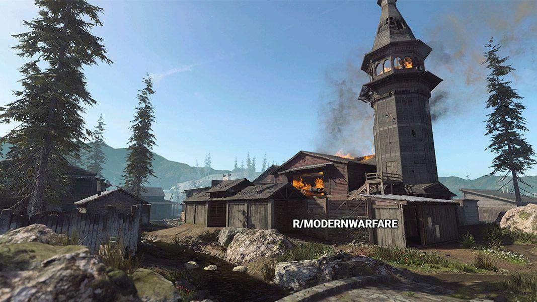 Village Modern Warfare 3 Activision