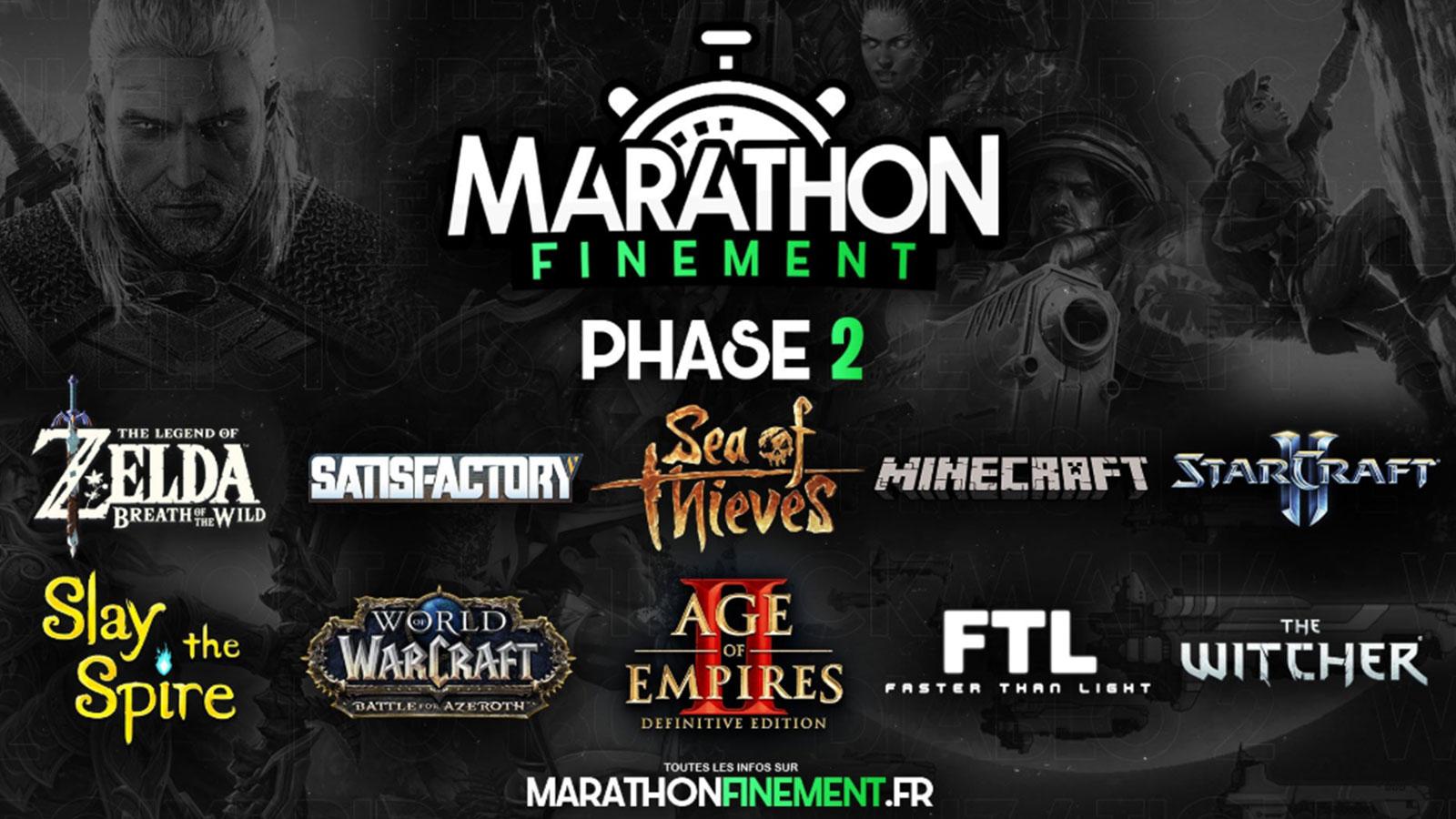 La deuxième phase du marathonfinement est sur ele point de démarrer