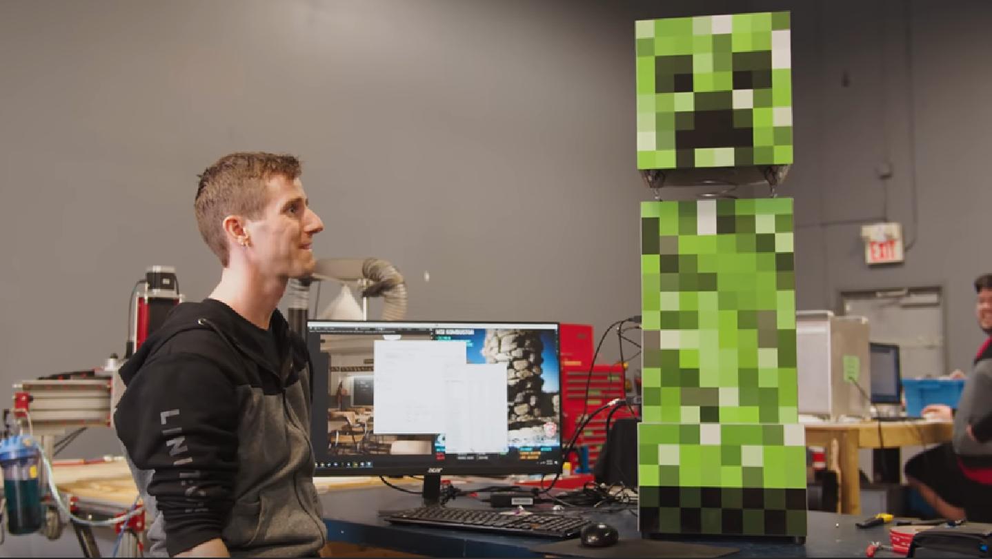 LinusTechTips PC Minecraft PewDiePie