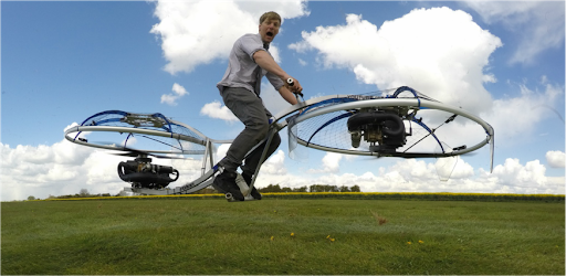 Colin Furze YouTube hoverbike