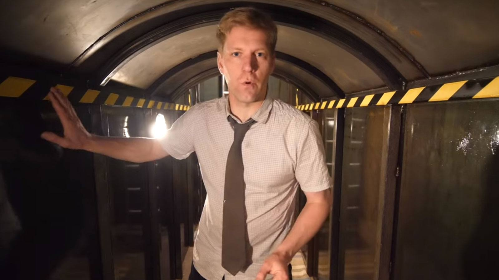 Colin Furze YouTube bunker