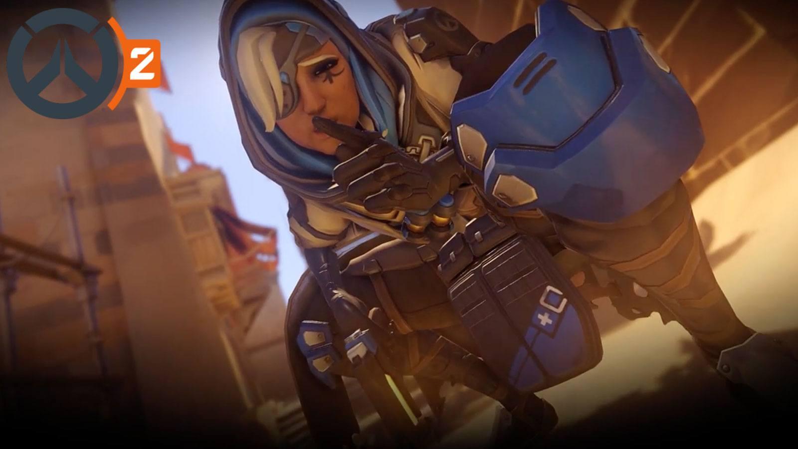 Ana Overwatch Blizzard
