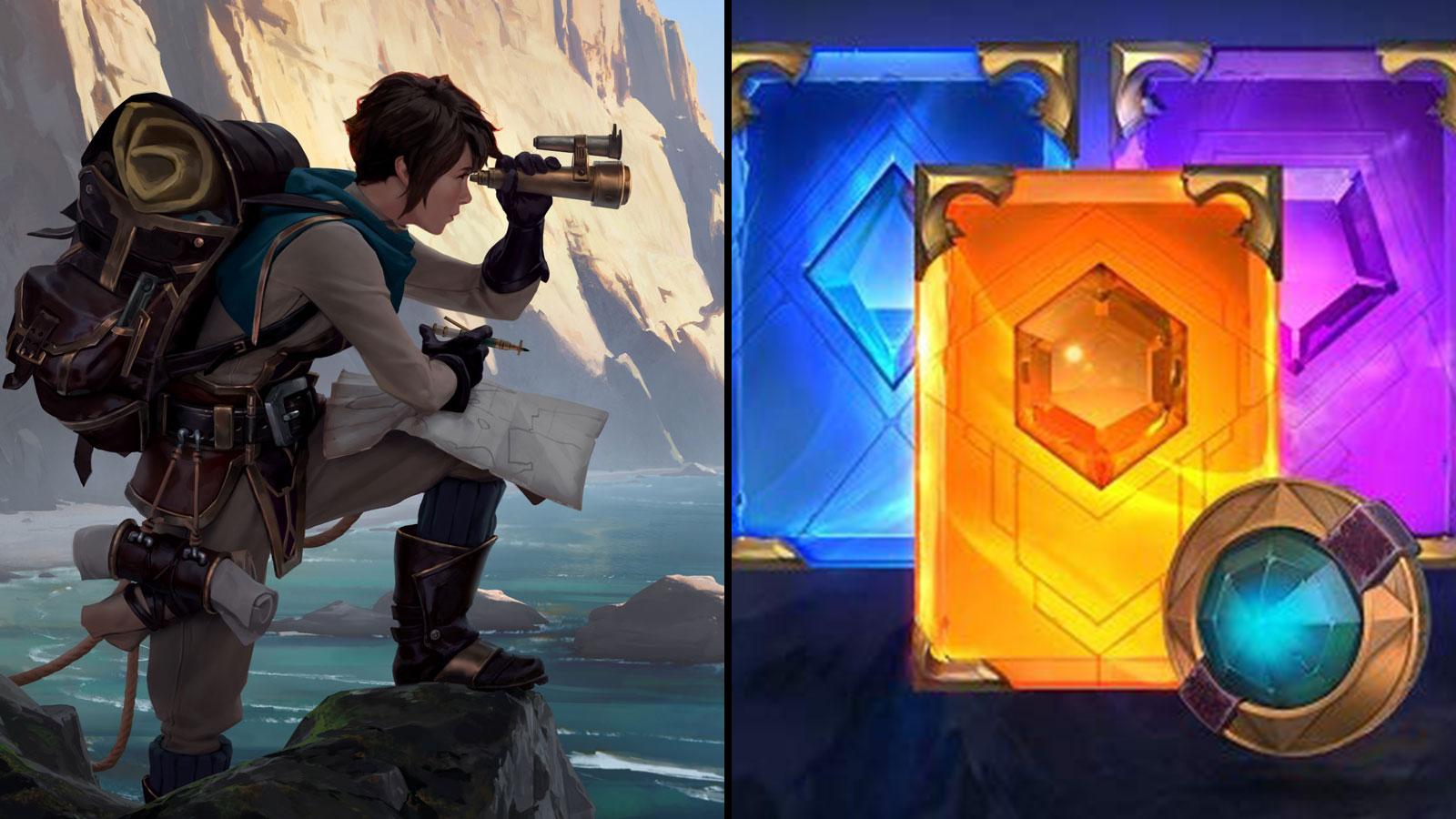 Vous pouvez obtenir des récompenses sur Legends of Runeterra grâce à Twitch Prime