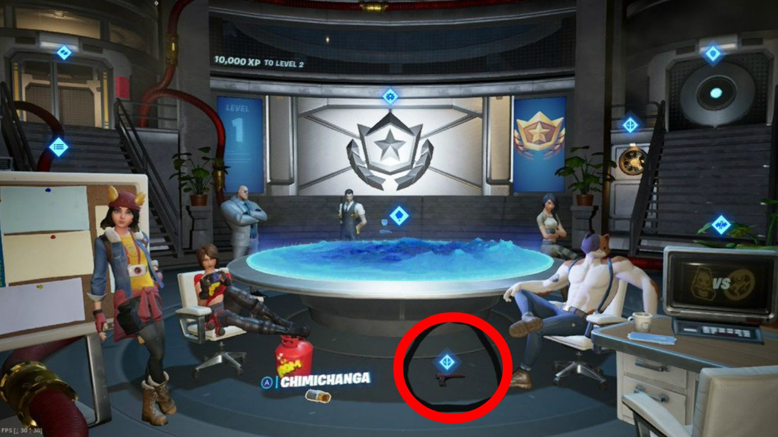 défis fortnite deadpool epic games