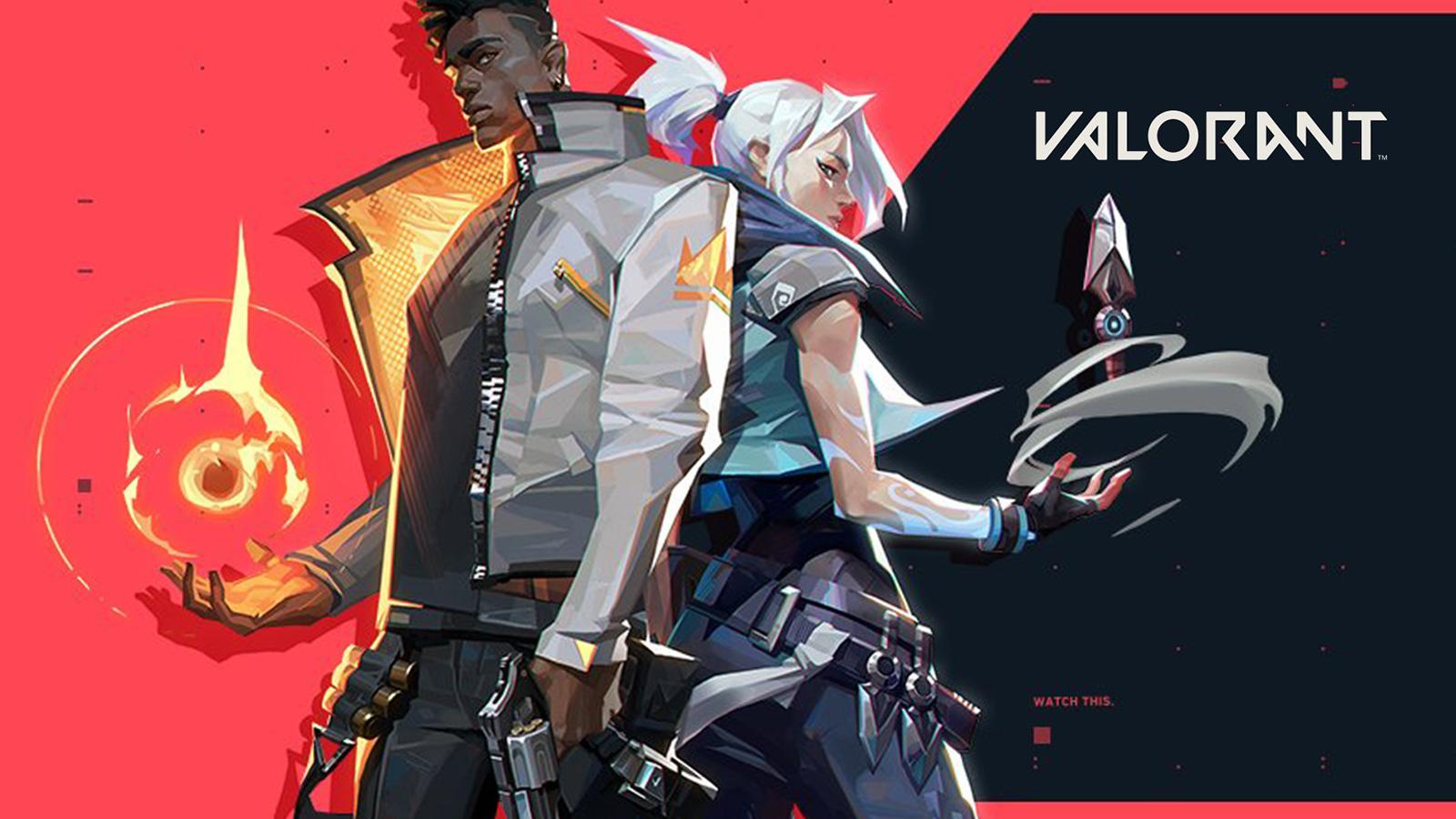 Phoenix et Jett sur Valorant
